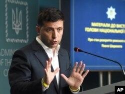Predsjednik Ukrajine Volodimir Zelenski