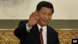 中共總書記習近平當選國家主席和軍委主席