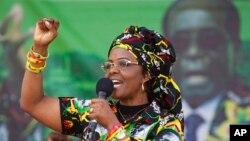 Grace Mugabe, primeira-dama do Zimbabwe
