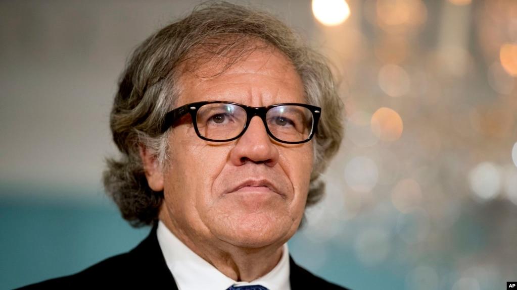 El secretario general de la OEA, Luis Almagro se comprometió a seguir apoyando los diálogos de paz a través de la Misión de Apoyo al proceso de paz.
