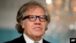 """Secretario General de la OEA, Luis Almagro, llamó a Nicaragua a """"redemocratizarse"""" y mantener la presión internacional sobre Venezuela. Almagro hizo las afirmaciones en una entrevista en Santiago, Chile."""