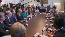 川默會談旨在消除跨大西洋關係不和的擔憂 (粵語)
