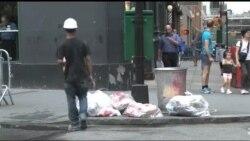 Індустрія сміття: Як Нью-Йорк розбирається із рекордною кількістю відходів. Відео
