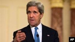 Menlu AS John Kerry berkunjung ke Turki dan Israel pekan depan (foto: dok).