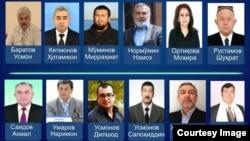 Virtual saylov komissiyasiga ko'ra, prezidentlikka muqobil nomzodlar