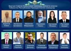 Salohiddin Usmonov - O'zbekiston - Prezident Saylovlari - Navbahor Imamova