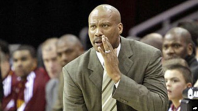 Cleveland head coach Byron Scott, February 11, 2011