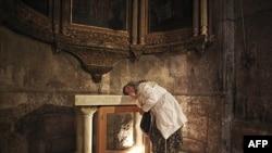 Hristiyanlar Kudüs'te Paskalya'yı Kutladı