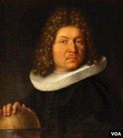Chân dung Jacob Bernouilli do Niklaus, em ông, vẽ.