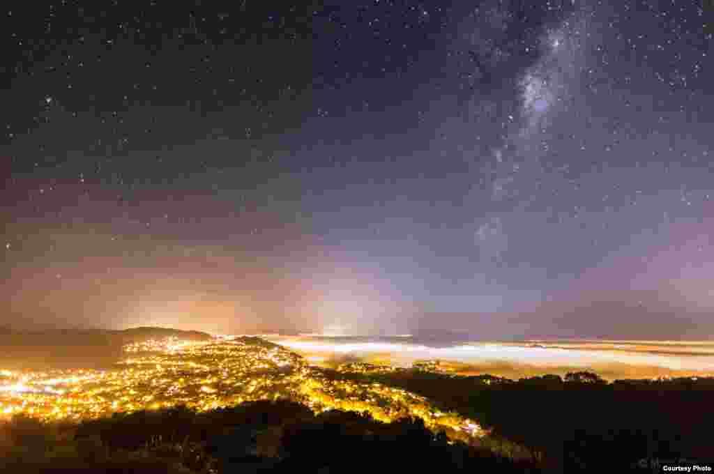 """""""Tuman ustida va yulduzlar ostida"""", Mark Gi (www.markg.com.au). (© twanight.org/contest)"""