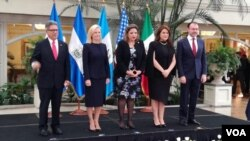 Cancilleres de Guatemala, El Salvador, México y la Secretaria de Seguridad de EE.UU. anunciaron en Guatemala una próxima reunión en Washington con los embajadores de sus países para agilizar el proceso de reunificación de las familias separadas en la frontera estadounidense.