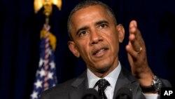 Obama habló el jueves con el primer ministro israelí, Benjamin Netanyahu, debido a la intensificación de las hostilidades en el Medio Oriente.