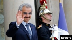 Saudi Arabian Prince Al-Waleed bin Talal