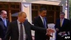 Встреча президента США и премьер-министра России