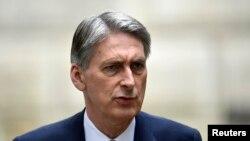 عکس آرشیوی از فیلیپ هاموند وزیر خارجه بریتانیا