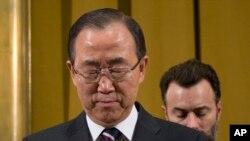 联合国秘书长潘基文 (资料照)
