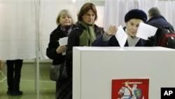 立陶宛選民(資料照片)