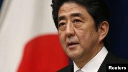 日本首相安倍晋三(2012年资料照片)
