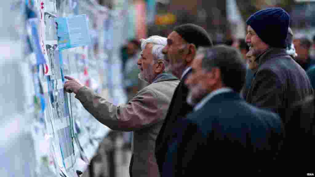 تبلیغ انتخابات مجلس و خبرگان در ایران. عکس: پوریا پاکیزه، ایسنا