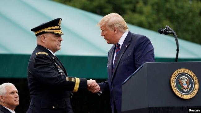 新任美军最高将领:永远不要低估美国的战斗力