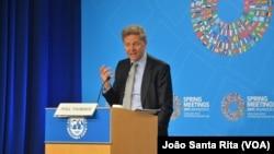 Поул Томсен. Фото з весняних зборів МВФ