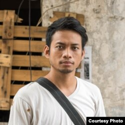 "Kavich Neang is a Cambodian award-winning filmmaker and co-founder of film production, Anti-Archive. His feature documentary ""Last Night I Saw You Smiling"" picks up several international film awards this year. (Courtesy photo of Kavich Neang/Anti-Archive)"