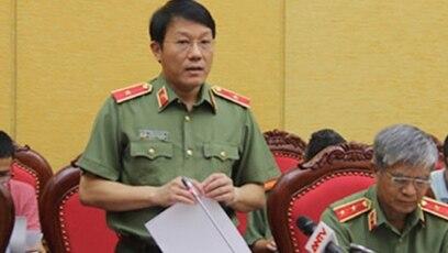 Người phát ngôn Bộ Công an, ông Lương Tam Quang, nói về dự thảo nghị định liên quan đến an ninh mạng, tháng 11/2018
