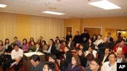 Công dân Mỹ gốc Việt trên khắp Hoa Kỳ họp mặt tại Washington để chuẩn bị gặp các giới chức Tòa Bạch Ốc, ngày 4/3/2012