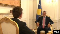 Kosovo, Hashim Thaci
