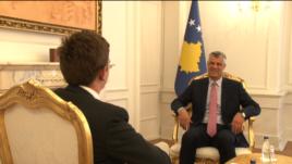 Intervistë me Presidentin e Kosovës, Hashim Thaçi