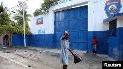 Foto yon prizon ann Ayiti ki nan vil Akayè.