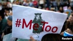 Pre dve godine, posle optužbi protiv holivudskog producenta Harvija Vajnstina nastao je pokret #MeToo: jedan od niza protesta održan u Japanu