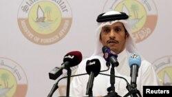 셰이크 모하마드 알타니 카타르 외무장관.