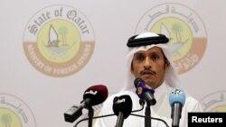 Menteri Luar Negeri Qatar, Sheikh Mohammed bin Abdulrahman Al Thani (foto: dok).