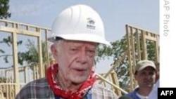 Cựu Tổng thống Carter tới VN 'không vì mục đích chính trị'