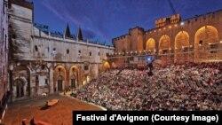 Le Festival d'Avignon en France
