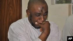 Wadanda ake zargin cewa 'Yan Kungiyar Boko Haram ne sun hada da Muhammad Nazeef Yunus.