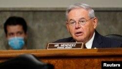 Senato Dış İlişkiler Komisyonu Kıdemli Demokrat Üyesi Bob Menendez