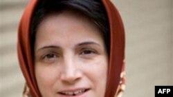 Bà Nasrin Sotoudeh bị bắt hồi tháng Chín và đã phải trải qua hơn ba tháng bị biệt giam ở Tehran.