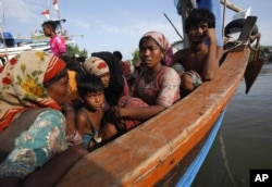Rohingya Boat People