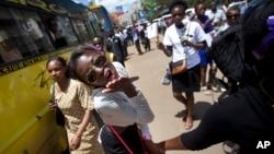 Une manifestation des femmes au Kenya