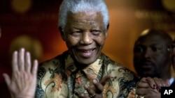 Tsohon shugaban Afrika ta Kudu Nelson Mandela