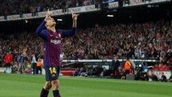 La Liga ေနာက္ဆံုးပြဲ ဘာစီလုိနာ အႏုိင္ရ၊ အက္သလက္တီကို သေရက်