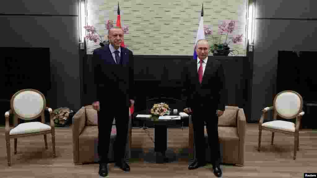 Ərdoğan-Putin görüşü