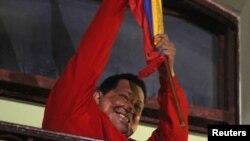 Venezuelan President Hugo Chavez Wins Re-Election