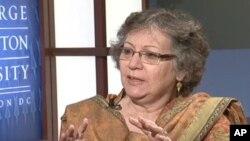 پاکستانی خواتین ہر شعبے میں آگے آرہی ہیں : منیزہ ہاشمی