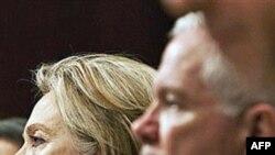 Klinton mbron strategjinë e NATO-s në Afganistan