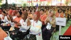 8일 버마 양곤에서 민주주의민족동맹의 첫 전당대회가 열렸다.