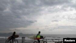 Le séisme est survenu dans le Pacifique, à l'ouest de la Californie (Reuters)