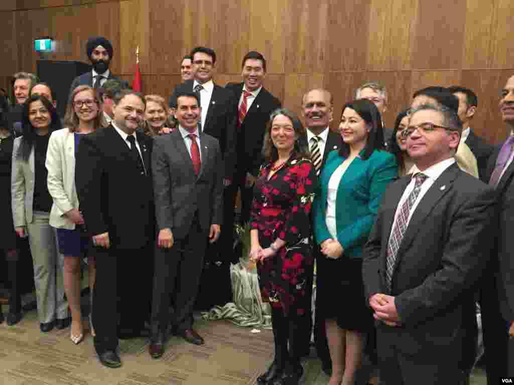 جشن نوروز در پارلمان کانادا. عکس: آناهيتا بهمن پور